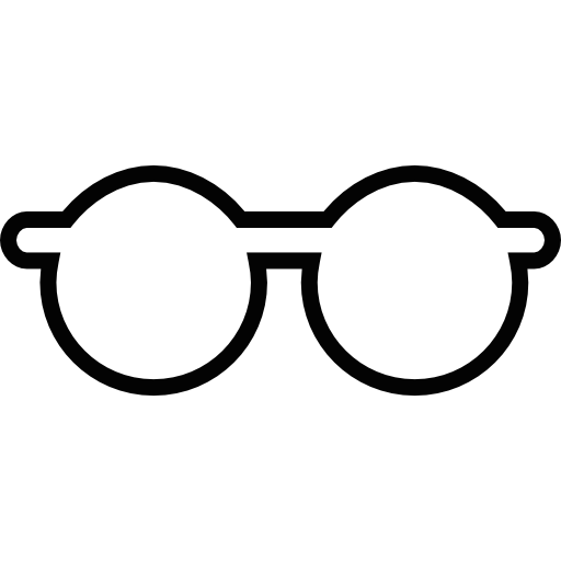 Eyeglasses Outline Icons Free Download