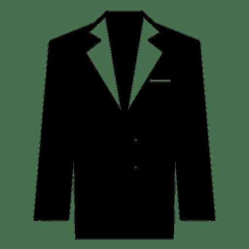 Black Suit Clothing Icon