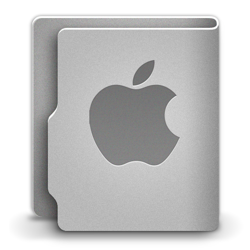 Apple Icon Aquave Metal Iconset
