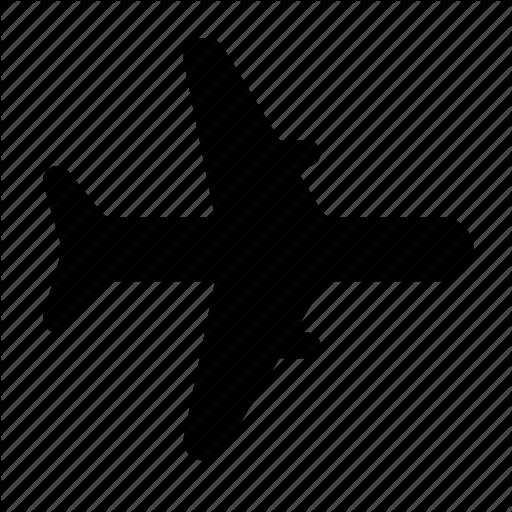 Aircraft, Flight, Fly, Plane, Transport, Vehicle Icon