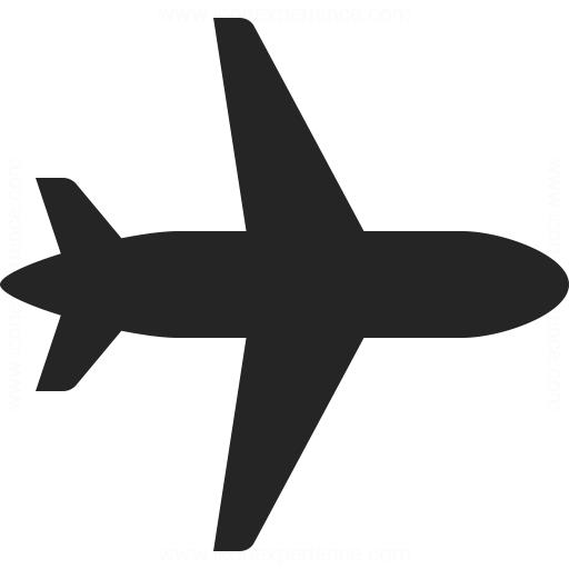 Airplane Icon Iconexperience