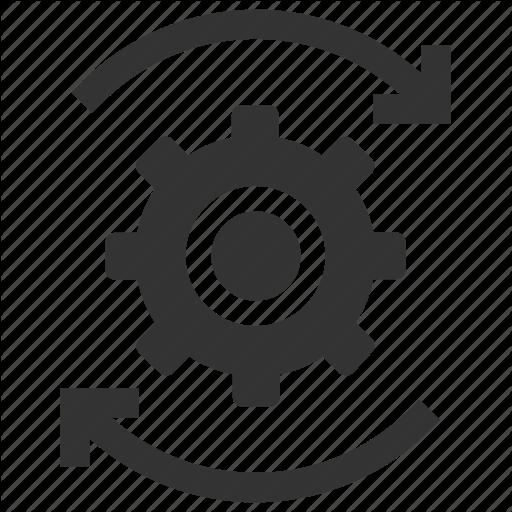 Change, Cog, Move, Optimization, Options, Process, Settings Icon