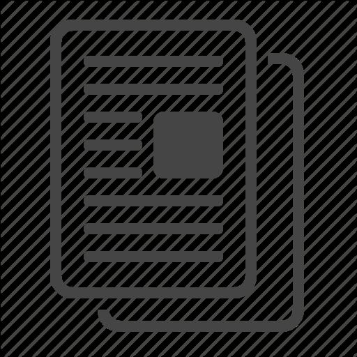 Article, Blog, Content, Copy Icon