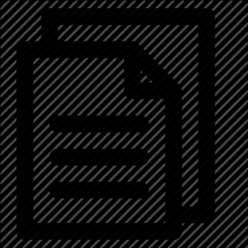 Content, Copy, Data, Document, File, Files, Paper Icon