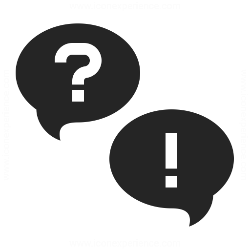 Question And Answer Icon Iconexperience