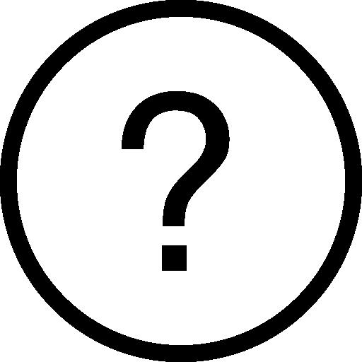 Questions Circular Button