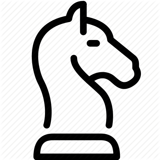 Chess, Game, Horse, Play, Strategy Icon