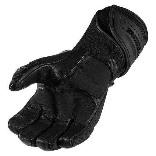 Icon Raiden Alcan Gloves In Black Hfx Motorsports