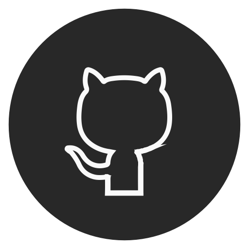 Circle, Github, Outline, Social Media Icon