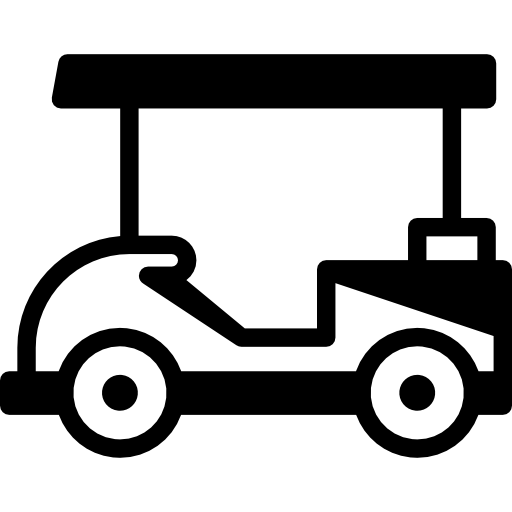 Golf Cart Facing Left Icons Free Download