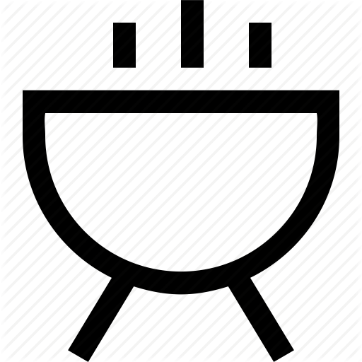 Grill, Kitchen Icon