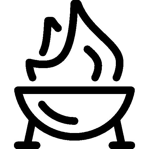 Grill Icon Restaurant Elements Freepik