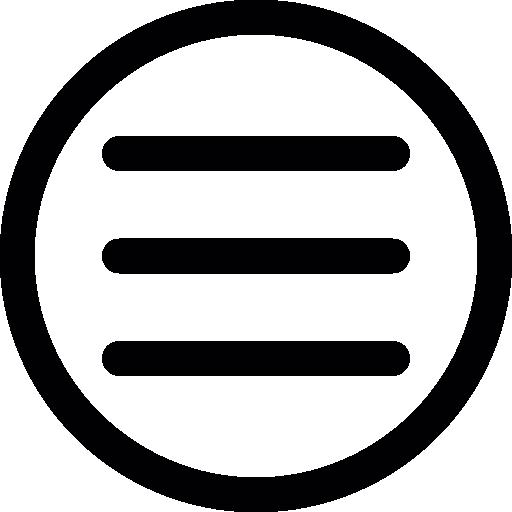 Menu Circle Icons Free Download