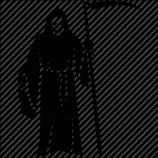 Collector, Death, Grim, Mortality, Reaper, Scythe, Soul Icon