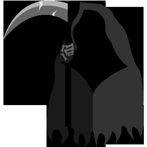Grim Reaper Icon Halloween Iconset Goldcoastdesignstudio
