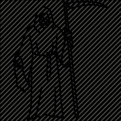 Collector, Death, Grim Reaper, Mortality, Scythe, Soul Icon