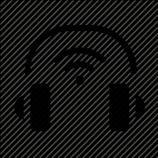 Headphones, Wireless Icon