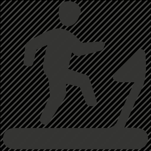 Exercise, Fitness, Running, Treadmill Icon