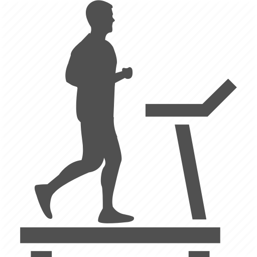 Fitness, Gym, Jogging Machine, Running Machine, Treadmill Icon