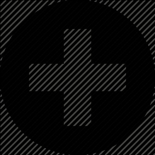 Create, Cross, Health, Medical, Service Icon