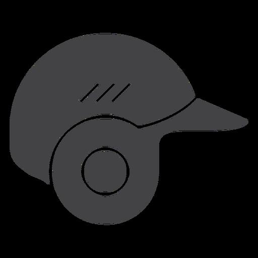 Baseball Helmet Flat Icon Helmet Icons