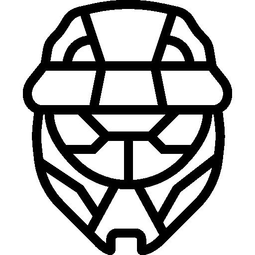 Helmet Icon Game Set Smashicons