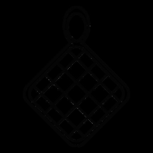 Pot Holder Stroke Icon