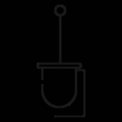 Toilet Brush Holder Stroke Icon