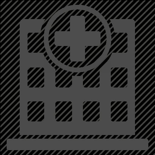 Building, Clinic, Company, Corporation, Hospice, Hospital, Office Icon