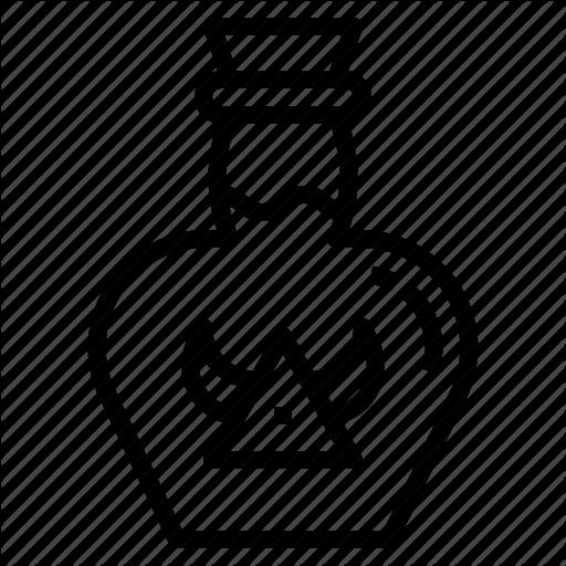 Bottle, Hp, Medicine, Poison, Potion, Viking Icon
