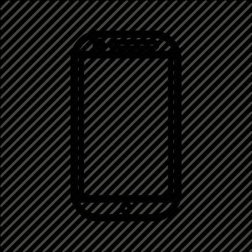 Electronic, Handphone, Hp, Phone, Smartphone, Touchscreen Icon