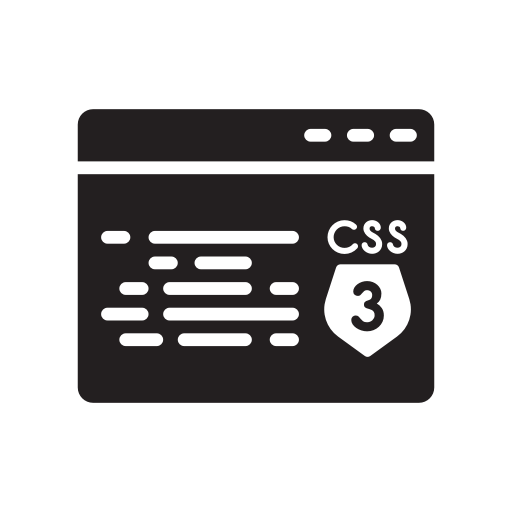 Css, Development, Html, Javascript, Shield Icon