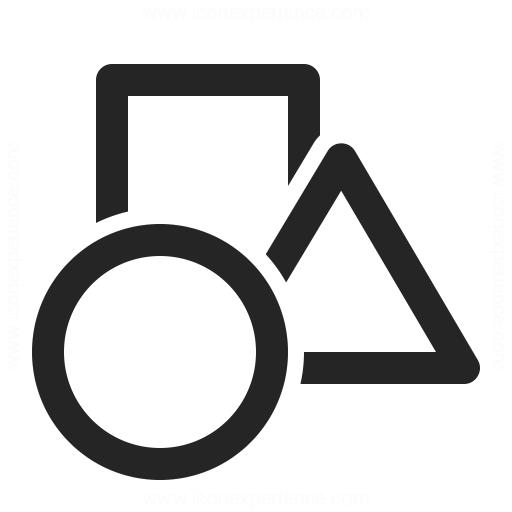 Shapes Icon Iconexperience