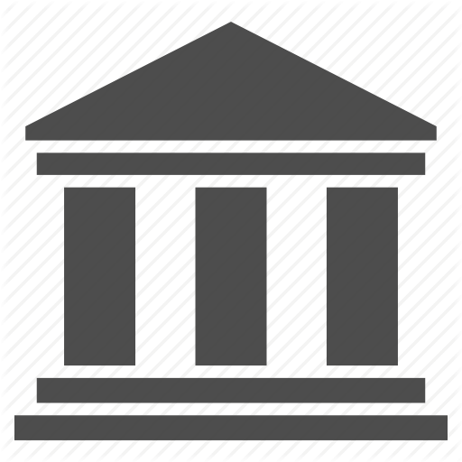 Bank, Building, Company, History, Library, Office, Portal Icon