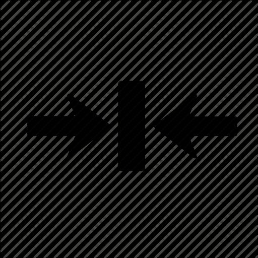 Arrow, Box, Clash, Collision, Impact, Jar, Right Icon