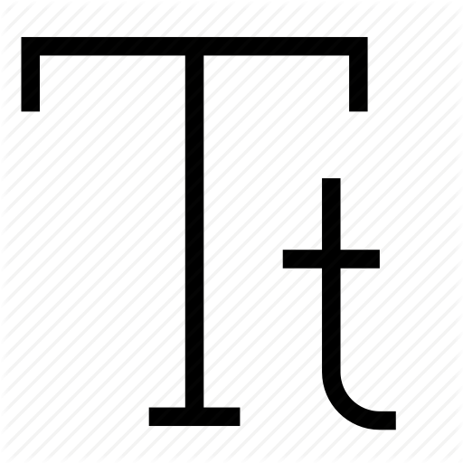 Editing, Font, Sentence, Sentence Case, Text, Type, Typeface Icon