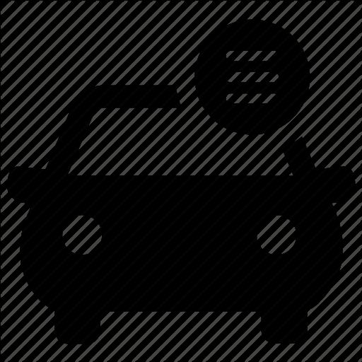 Manual Car Icon Schematic Diagram