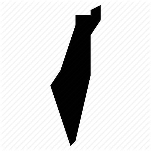 Israel, Map, Palestine Icon