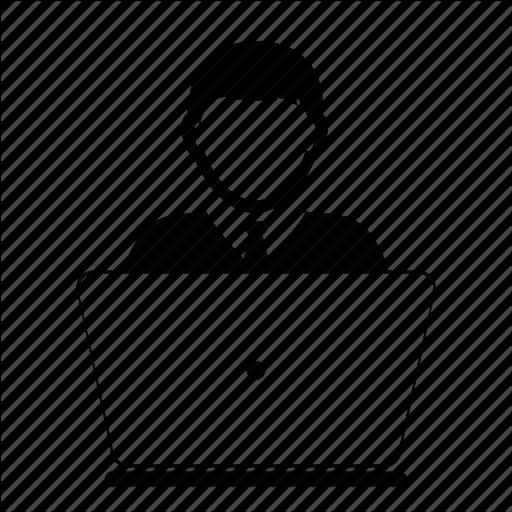 Computer, Laptop User Icon