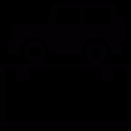 Transport, Vehicle, Jeep Icon