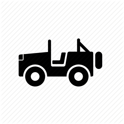 Car, Jeep, Off, Parks, Road, Travel Icon