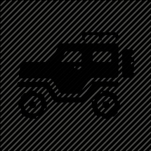 Car, Jeep, Offroad, Safari, Transport, Transportation, Vehicle Icon