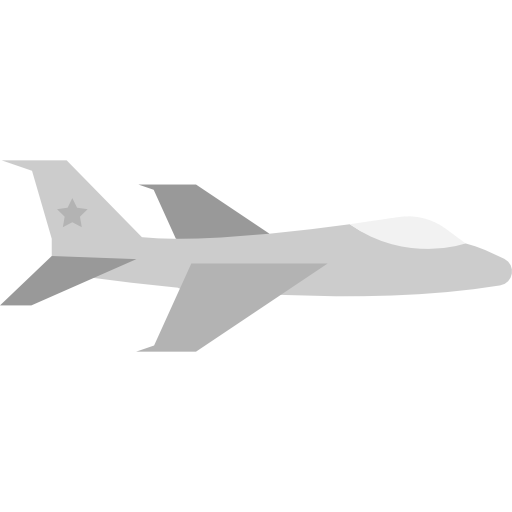 Fighter, Jet Icon