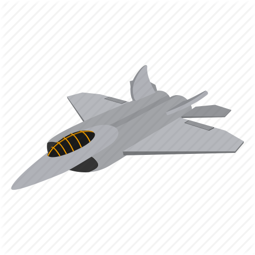 Aircraft, Cartoon, Fighter, Flight, Fly, Jet, Plane Icon