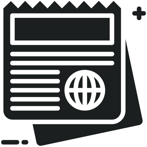 Journal, News, Newsletter, Newspaper, Publication Icon Free