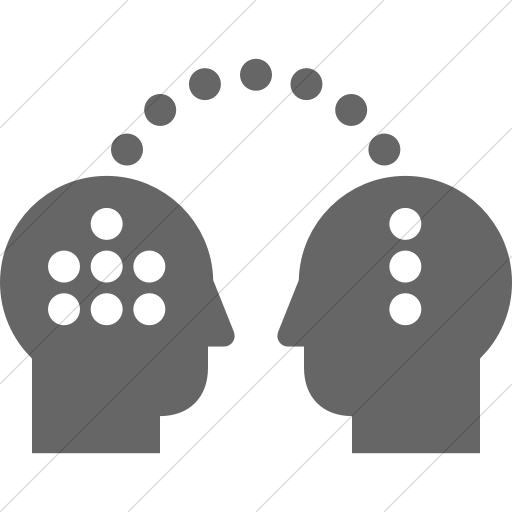 Simple Gray Iconathon Knowledge Transfer Icon