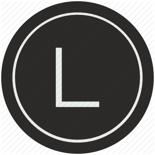 English, L, Latin, Letter, Uppercase Icon