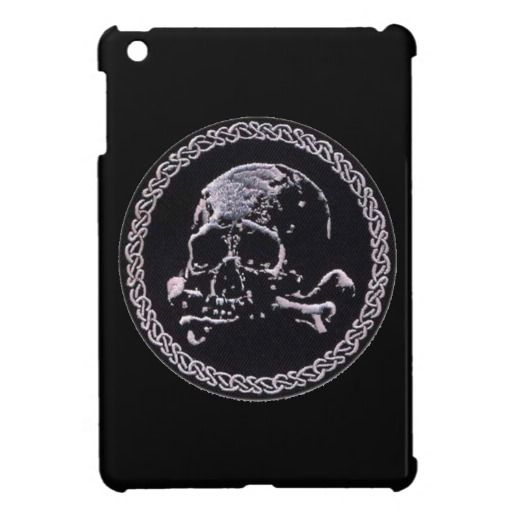 Vintage Skull Round Icon Ipad Mini Cases Ipad Sleeves And Cases