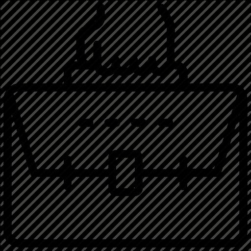 Briefcase, Business Case, Laptop Bag, Office Case, Portfolio Icon