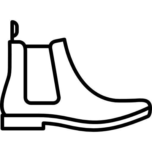 Leather Chelsea Boots Icons Free Download